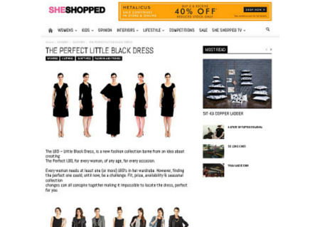 The LBD - She Shopped